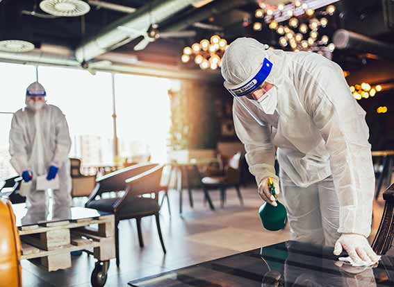 COVID-19 Coronavirus cleaning services in Los Angeles