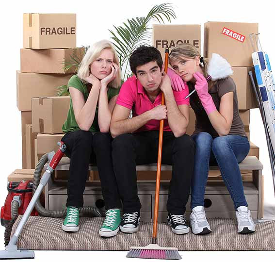 move-out cleaning services in Los Angeles