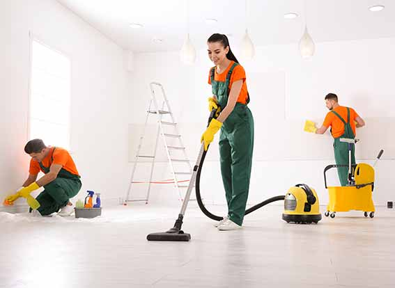post-construction cleaning services in Los Angeles